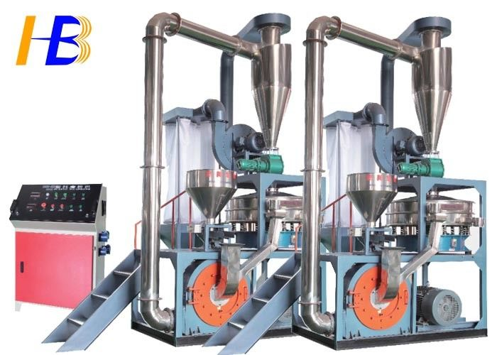 Synthetic Rubber SBR Rubber Grinding Machine Improve Particle Size Distribution Available